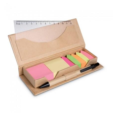 STIBOX - Desk set in brown paper box