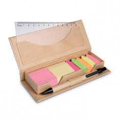 STIBOX - Desk set in brown paper box