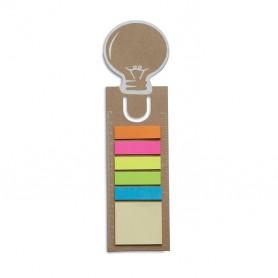 IDEA - Bookmark with memo stickers