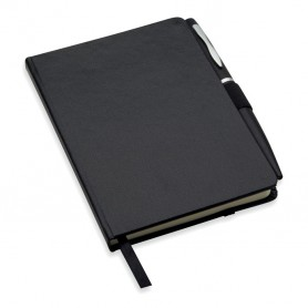 NOTALUX - A6 notebook with pen