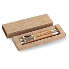 BAMBOOSET - Bamboo pen and pencil set