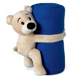MANTA - Fleece blanket with bear