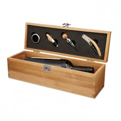 TARDOR - Wine set in bamboo box