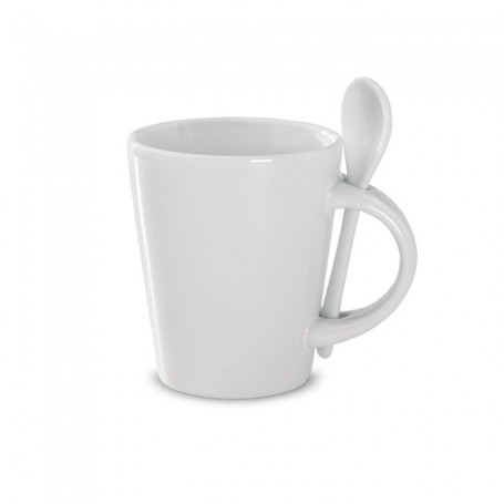 SUBLIMKONIK - Sublimation mug with spoon