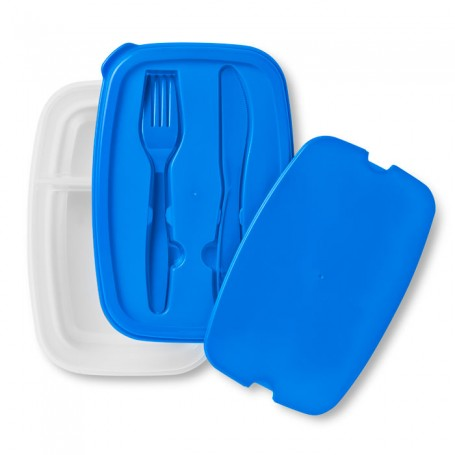 DILUNCH - Lunch box with cutlery set