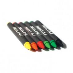 BRABO - Carton of 6 wax crayons