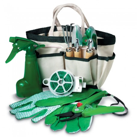 GARDENIA - Set of 7 garden tools