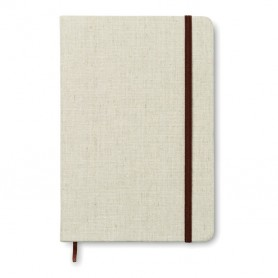 CANVAS - A5 notebook canvas covered