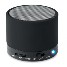 ROUND BASS - Round Bluetooth speaker