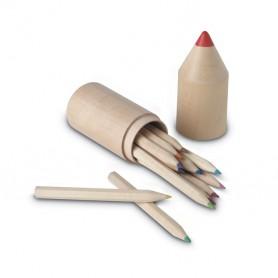 COLORET - 12 pencils in wooden box