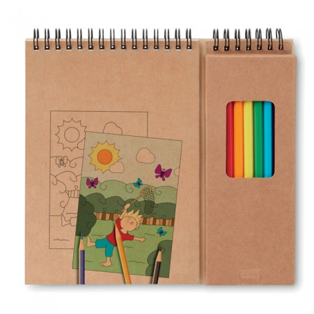 COLOPAD - Colouring set with notepad