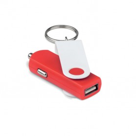 TECHRING - USB car charger with keyring