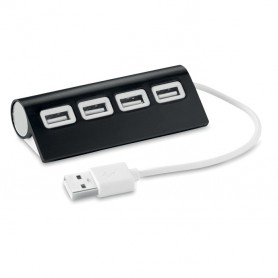 ALUHUB - 4 port USB hub