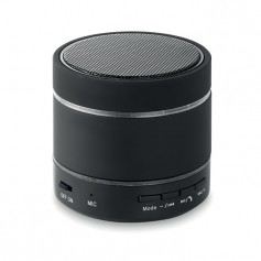ROUND LIGHT - Bluetooth speaker w/ led light