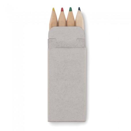 PETIT ABIGAIL - 4 mini coloured pencils