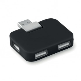 SQUARE - 4 port USB hub