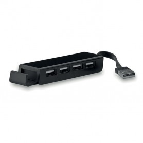 SMARTHOLD - 4 USB hub / phone holder