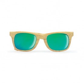 WOODIE - Wooden look sunglasses