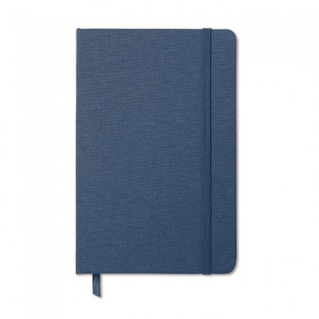 FABRIC NOTE - Two tone fabric cover notebook