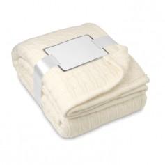 CHAMONIX - Blanket, cable acrylic/sherpa