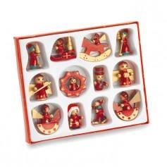 LAPONIA - 12 pieces Christmas decoration
