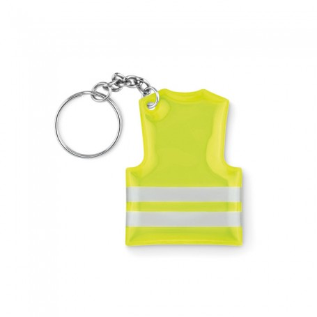 VISIBLE RING - Keyring with reflecting vest