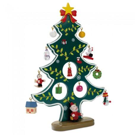 WOODTREE - Wooden xmas tree decoration