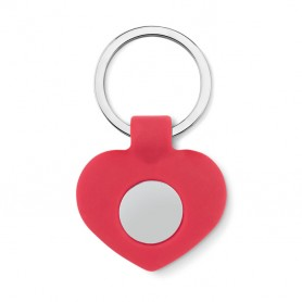 CUORE - Silicone key ring with token