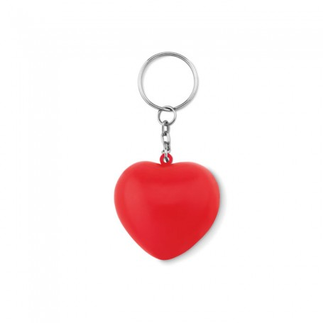 LOVY RING - Keyring with PU heart