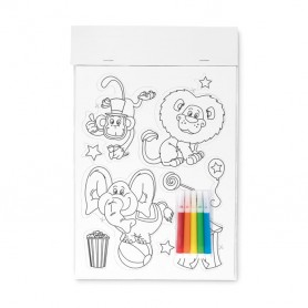 MAGCOLOUR - Colouring magnetic stickers