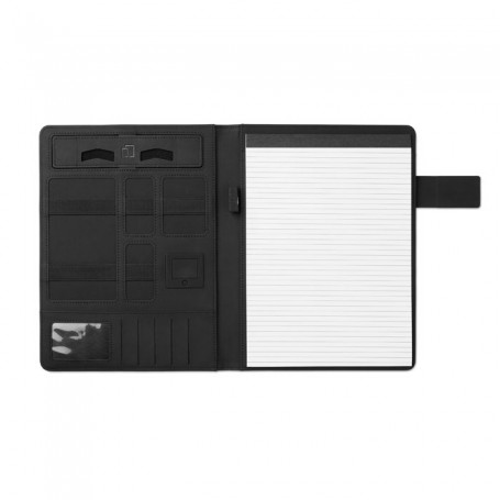 POWERFOLDY - A4 portfolio with power bank