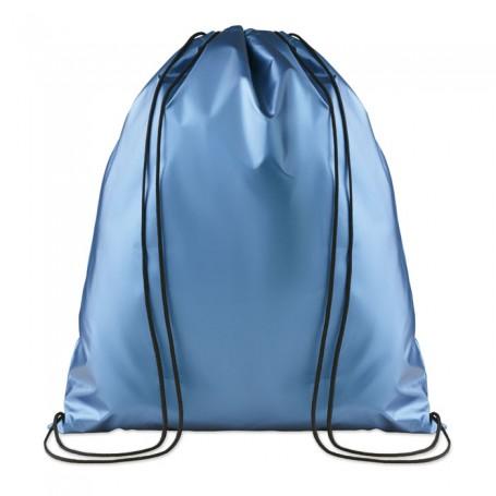 NEW YORK - Drawstring bag shiny coating