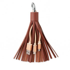 TASSEL - Keyring with USB type C cable