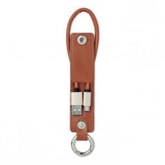 LISO - USB-A to micro-B cable keyring