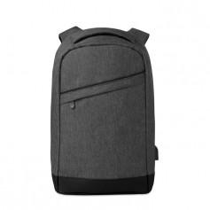 BERLIN - 2 tone backpack incl USB plug