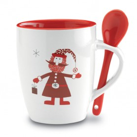 CLAUS - Mug with spoon