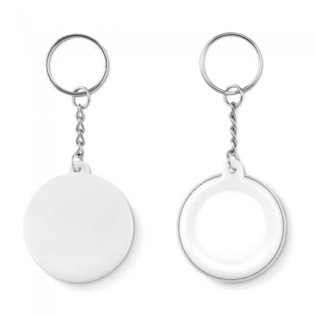 PIN KEY - Small pin button key ring