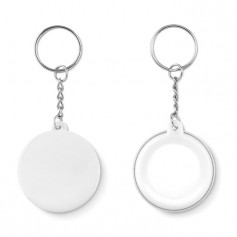 PIN KEY - Small pin button key ring