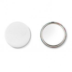 MIRROR - Mirror button, metal