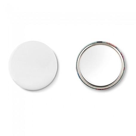 MIRROR - Mirror button, metal