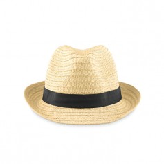 BOOGIE - Natural straw hat