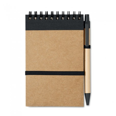 SONORA - Recycled paper notebook + pen