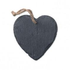 SLATEHEART - Slate Xmas hanger heart
