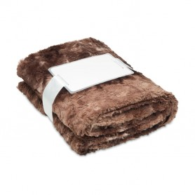 ANDERMATT - Fake fur blanket