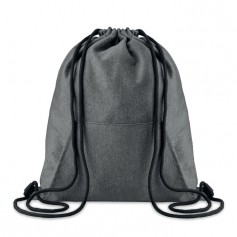 SWEATSTRING - Drawstring bag with pocket