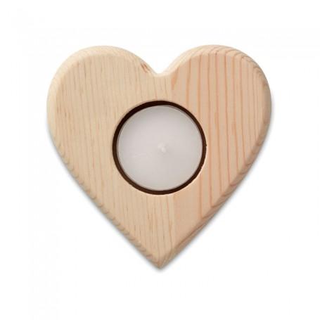 TEAHEART - Heart shaped candle holder