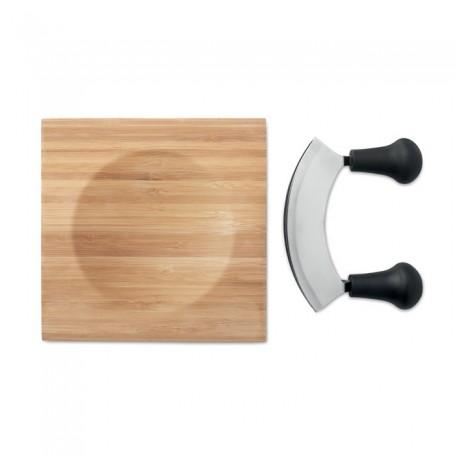 ANCONA - Bamboo Cheese cutter set
