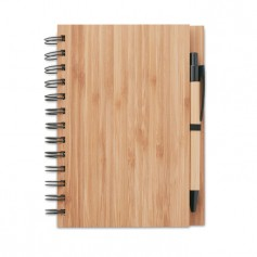 BAMBLOC - Bamboo notebook with pen