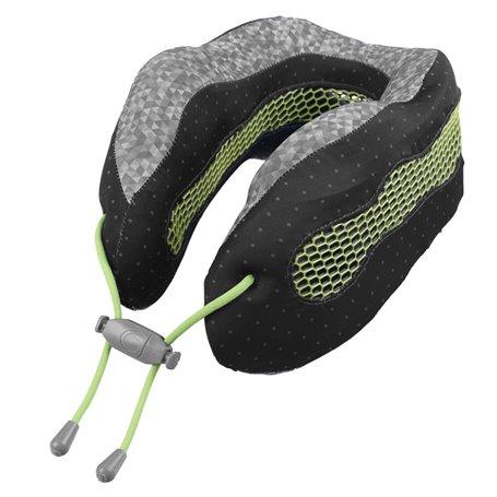 """Kelioninė pagalvėlė su logotipu """"Glacier Evolution Cool"""" žalia-juoda"""