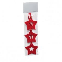 STARFY - Star shape felt tree hanger